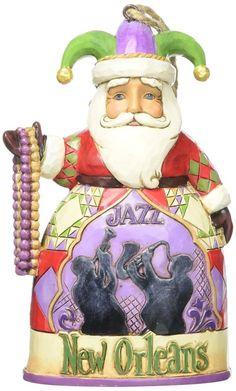 Jim Shore Heartwood Creek New Orleans Santa Stone Resin Hanging Ornament 4.5   Collectibles, Decorative Collectibles, Decorative Collectible Brands   eBay!
