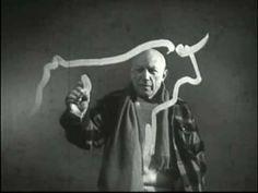 Watch 9 Iconic Artists at Work: Vintage Videos of Picasso, Matisse, Kandinsky, Renoir, Monet, Escher & More |  Open Culture