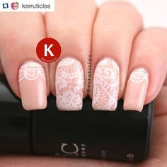#Repost @kerruticles with @repostapp.  Pale peach with lace stamping. The base is Bundle Monster Love At First Sight (gel) and the stamping plate is hēhē 050 using Essence Stamp Me! White. . . . #nails #instanails #notd #nailsoftheday #nailstagram #nailporn #nailswag #nailsofinstagram #mani #bbloggers #nailgasm #nailporn #nailpolish #manicure #nailart #nailartoftheday #naildesigns #naildesign #dailynailartpics #nails2inspire #nailpromote #weloveyournailart #nailitdaily #repost2day #stamping…