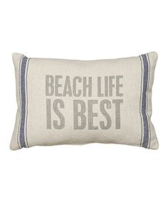 'Beach Life' Throw Pillow