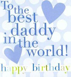 Happy Birthday Daddy From Daughter | 15cm