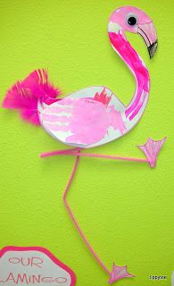 Tippytoe Crafts: flamingo