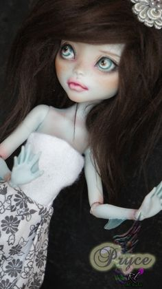 OOAK Monster High Lagoona Blue Custom Repaint by ♥ Rogue Lively ♥ BJD Inspired | eBay