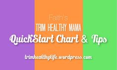 """I hear this about 5 times a day: """"So! Tell me about Trim Healthy Mama!"""" I lost around 20lbs in 10 weeks when I started eating the THM way in March 2014 and have basically become a walking advertise..."""