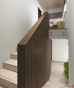 House Interior Design - Stair - Oradea, Romania by Artprenta Studio www.artprenta.ro