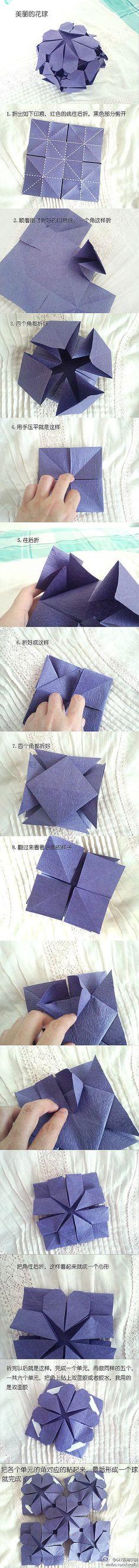24 ideas for origami modular ball Origami Modular, Origami Paper Folding, Origami And Quilling, Origami And Kirigami, Origami Ball, Paper Crafts Origami, Oragami, Heart Origami, Useful Origami