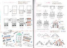 Illustration facile du stylo à bille stylo de couleur dessin