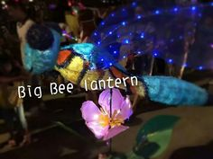 Big bee lantern