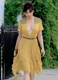""" July 20 Daisy Lowe @ Leaving Her Home in London"" Gorgeous Women, Beautiful People, Girls Lipstick, Daisy Lowe, Wrap Dress, Dress Up, Hilary Duff, Passion For Fashion, Beautiful Dresses"