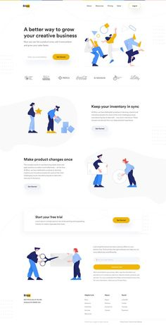 Landing Page Inspiration, Website Design Inspiration, Graphic Design Inspiration, Web Ui Design, Web Design Trends, Flat Design, Web Layout, Layout Design, Wireframe