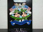 Disney Veteran's Day 2011 Pin - Mickey Mouse Minnie Mouse