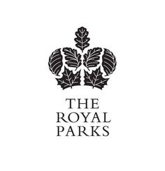 logo / The Royal Parks by Moon Brand
