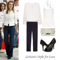 Shop Queen Letizia's style for less - July 2014