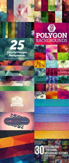 Free Polygon Background Packs Download on Behance