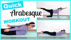 Quick Back Workout to Improve Arabesque Dance Flexibility Stretches, Ballet Stretches, Flexibility Workout, Flexibility Challenge, Ballet Barre Workout, Ballerina Workout, Teach Dance, Dance Technique, Dance Training