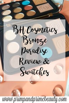 Swatches of BH Cosmetics Bronze Paradise Palette | MAKEUP ...