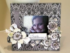 Authentique Paper: Simply Irresistible Altered Frame