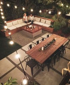 Magnificent Backyard Design Ideas to Try for Your Garden Marveolus Small Backyard Garden Landschaftsbau-Ideen Small Backyard Gardens, Small Backyard Landscaping, Backyard Seating, Landscaping Design, Backyard Landscape Design, Cozy Backyard, Deck Bench Seating, Lounge Seating, Terraced Backyard