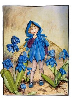 I ❤ ribbonwork . . . The Scilla Fairy, Marina Zherdev