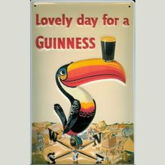 Lovely day for a Guinness #Cartel #Publicidad €19.95