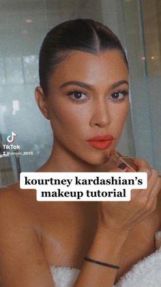Contour Makeup, Flawless Makeup, Eye Makeup, Natural Makeup Tutorials, Makeup Tips, Orange Lipstick Makeup, Summer Makeup Looks, Pinterest Makeup, Hey Gorgeous