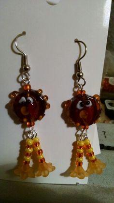 Turkey earrings