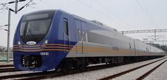 Incheon Int'l Airport Line EMU (Express type) #Hyundai Rotem #railway #rollingstock