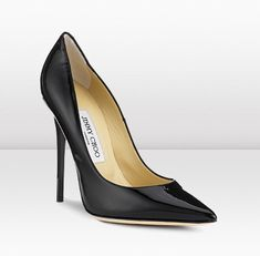9c9178ce9b The Anouk is part of the iconic CHOO collection. The pointy toe Anouk in  black patent leather is a triumph in stiletto engineering that takes the Jimmy  Choo ...