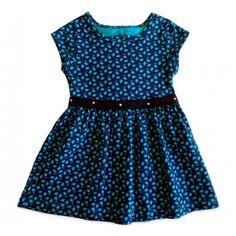 Vestido Infantil Brandili Marinho