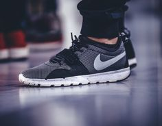 Nike SB Trainerendor Black/Metallic Silver