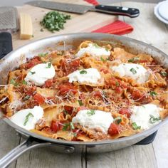 Skillet Lasagna - One Dish Meals Recipes - Shape Magazine