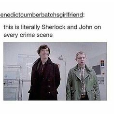 So true ! Sherlock Holmes Benedict, Sherlock Holmes Bbc, Sherlock Fandom, Sherlock Quotes, Sherlock John, Sherlock Humor, Martin Freeman, Benedict Cumberbatch, Detective