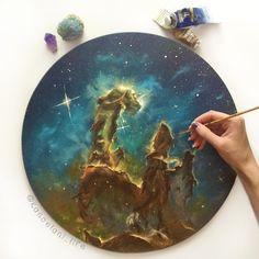 1000+ images about Akrilik Resim on Pinterest | Galaxy ...