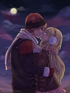 Fairy Tail- natsu and lucy