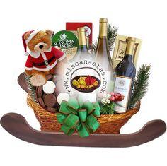 anchetas para empresas - Buscar con Google Personalized Wine, Christmas Decorations, Gift Ideas, Google, Gifts, Vintage, Wooden Wheelbarrow, Baskets, Centerpieces