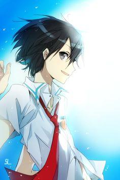 Kirigaya Kazuto - By Sword Art Online ღ Kirito Sword, Sword Art Online Kirito, Kirito Kirigaya, Kirito Asuna, Sao Anime, Manga Anime, Anime Boys, Tous Les Anime, Gun Gale Online