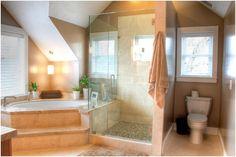 Small Master Bathroom Design Ideas | Cape Cod Home Remodel Design : Renovation Design Group