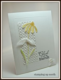 stamping up north: Water color bashful daisy