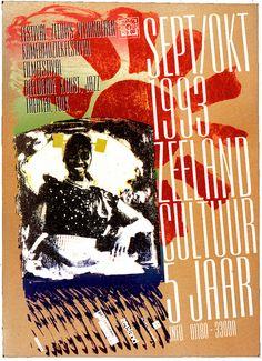 Festival Poster 1993 by irisdeleeuw, via Flickr Zuid-Beveland #Zeeland #ZuidBeveland #protestant