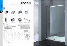 304 stainless steel sliding door system factory[SLA002]