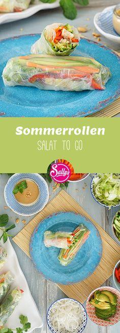 Ein Salat to Go! Wenn das mal nicht praktisch, gesund und lecker ist!