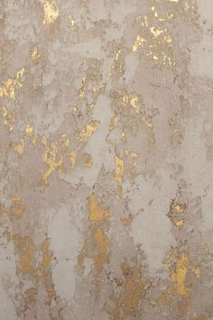 Gold Plaster Wall