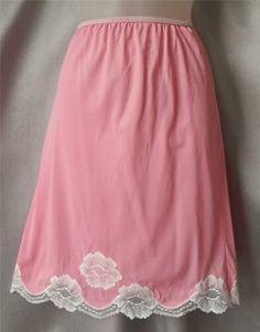 Pretty Lingerie, Vintage Lingerie, Sexy Lingerie, Slip Dresses, Nighties, Ladies Slips, Bubblegum Pink, Lingerie Collection, Pink Color