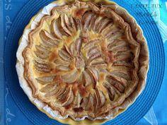 recette TARTE aux POIRES trop fastoche (même recette testée avec des pommes ou des nectarines)