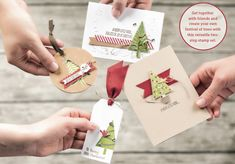 Stampin' Up! Holiday Catalog is here! Come check it out AND the Festival of Trees bundle (stamp set PLUS punch)… If you need a catalog, just let me know!