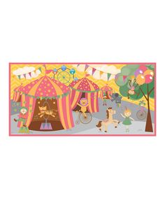 Take a look at this Pony Circus Wall Mural by Mona MELisa Designs on #zulily today!