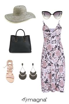 How to wear a summer dress #plussize #curvyfashion
