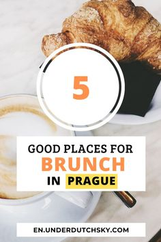 5 X Best Brunch in Prague - Under Dutch Sky Prague Travel Guide, Amsterdam Travel Guide, Travel Tips For Europe, Europe On A Budget, Cities In Europe, Best Places To Eat, Cool Places To Visit, Prague Things To Do, Prague Food