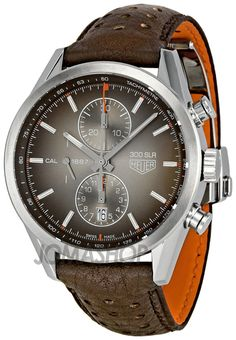 Tag Heuer Carrera 300 SLR Brown Dial Chronograph