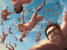 snk 91 Attack On Titan Tattoo, Attack On Titan Meme, Attack On Titan Fanart, Otaku Anime, Anime Manga, Anime Art, Passe Psycho, Fantasy Town, Villainous Cartoon
